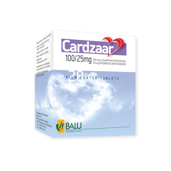 Cardzaar-25mg