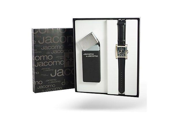 Jacomo de Jacomo Black 100ml & Ρολόι